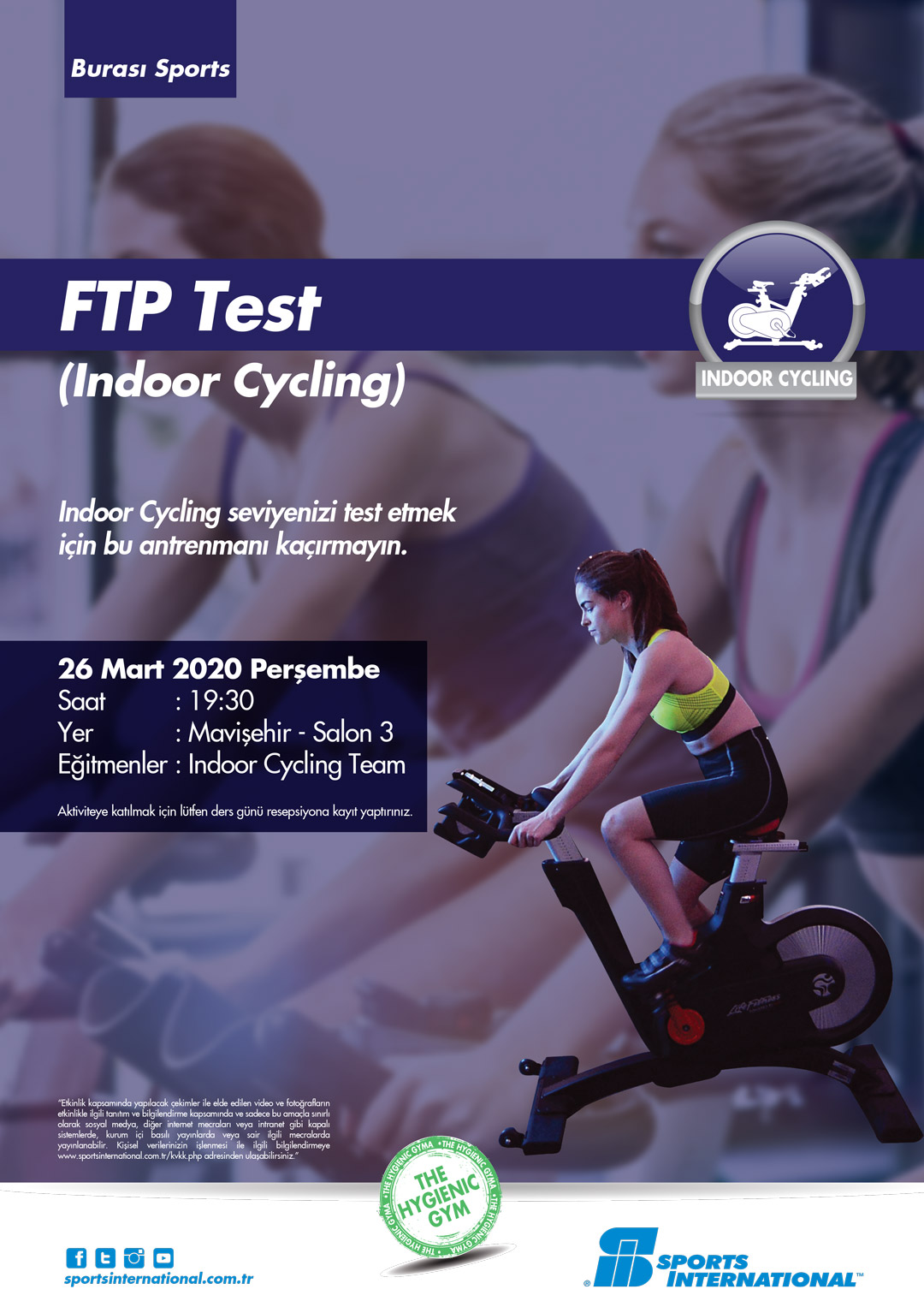 FTP Test   (Indoor Cycling)