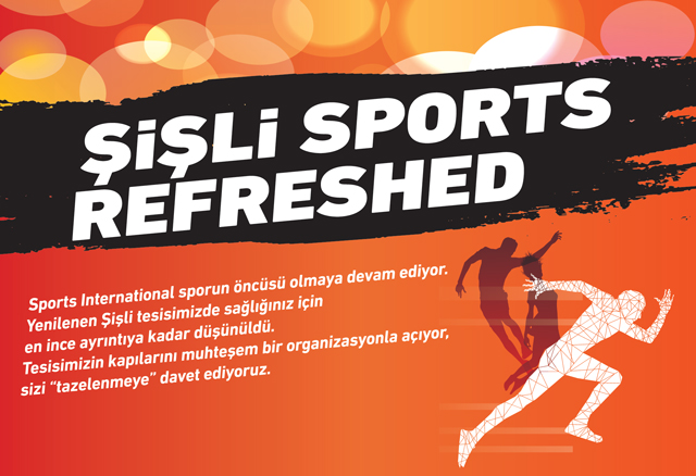 Şişli Sports  Refreshed