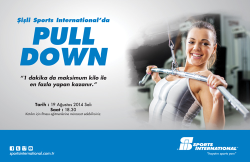 Şişli Sports International Pull Down / 19 Ağustos